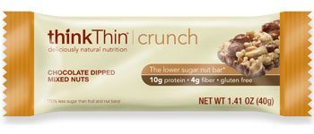 Think Thin Chocolate Dipped Mixed Nuts Crunch Bar