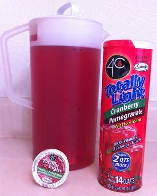 4C Cranberry Pomegranate Sugar Free Drink Mix
