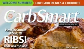 CarbSmart Magazine Issue 03 May 2013 Low Carb Picnics & Cookouts