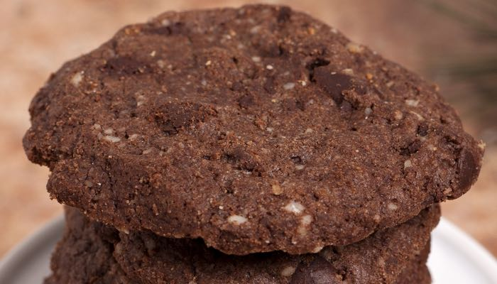 Dana Carpender's Low-Carb Peace On Earth Chocolate Chocolate Chip Cookies