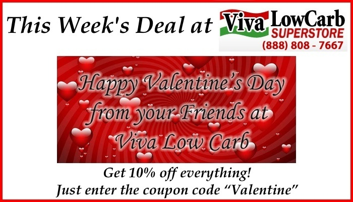 Viva Low Carb Valentine's Sale