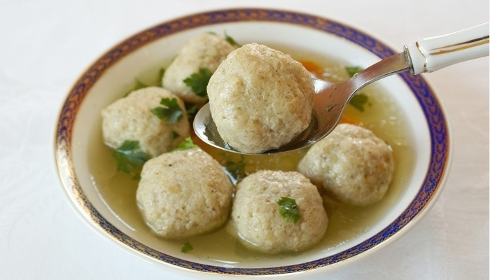Lower Carb Matzo Balls for Chicken Soup