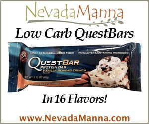Low Carb QuestBars at NevadaManna.com