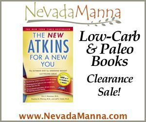 Nevada Manna Books Clearance Sale