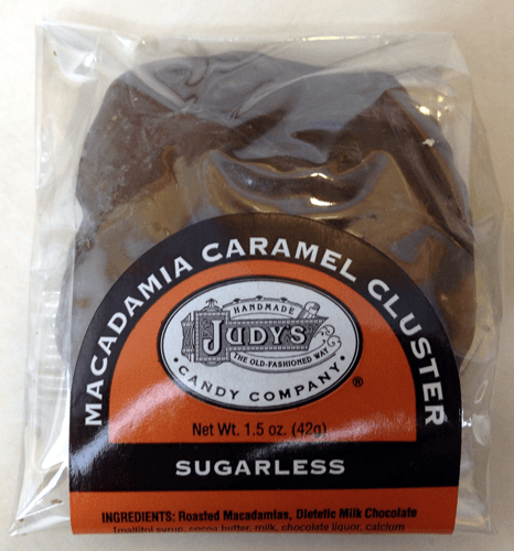 Judy's Candy Co. Macadamia Nut Caramel Clusters