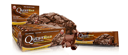 Quest Nutrition Chocolate Brownie Bars
