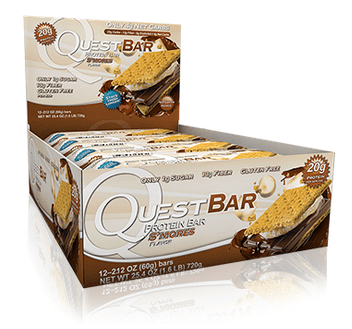 Quest Nutrition Smores Bars Box