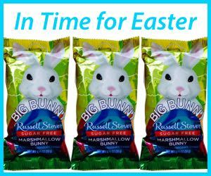 Russell Stover Sugar Free Bunny