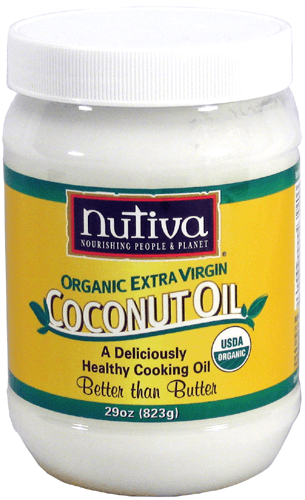 nutiva organic extra virgin coconut oil 29 oz jar organic