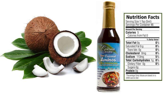 Coconut aminos nutrition