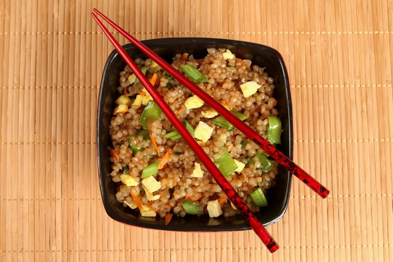 "Fat Fast Fried ""Rice"" from Fat Fast Cookbook 2"